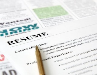 Closeup of Resume with Pen